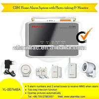 Electronic Home security camera alarm wireless with voice announcement system