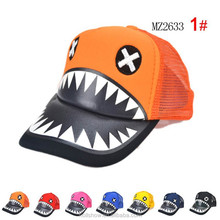 Wholesale Children Baseball Hat Net Shark Kids Sport Cap