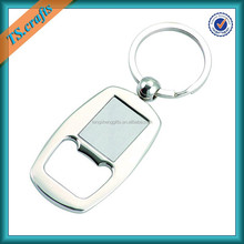 Zinc alloy die casting customized keyring bottle openers keychain