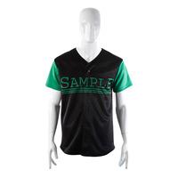 Sublimated team baseball uniform design fabric
