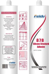 FD-858 General Purpose/Acetic Structural Silicone Sealant with Factory Price
