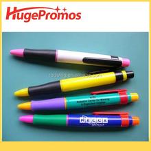 Promotional Customized Plastic Push Action Ball Pen