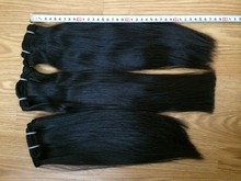 """Hot sale perfect hair natural human straight double weft 10""""-32"""" available in stock very silky and smoothly"""