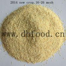 Shandong getrockneter knoblauch granulat 16-26mesh
