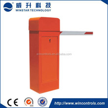 Parking access control system traffic barrier for access control system