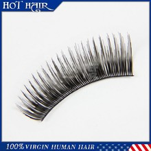 Private label eyelash extension ,synthetic silk lash and mink eyelash extention