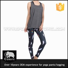 High-end casual and comfort women yoga wear fitness