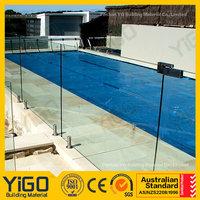 pool fence glass panels/pool fence code