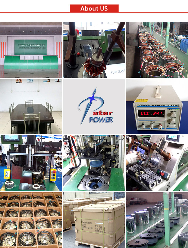 2015 High quality 24v ac motor low rpm with high power