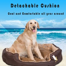 round shape detachable coral fleece dog house