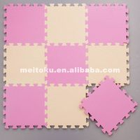 most popular simple eco-friendly 30x30cm solid eva mat