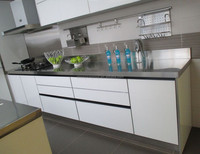 white gloss laminated mdf kitchen cabinet doors