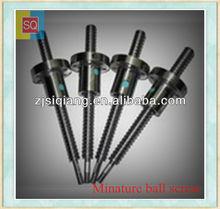 SQ bearing manufacture C7 Rolled ball screw// lead screw & nut DFU1605