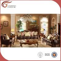 classic style top grade genuine leather sofa design
