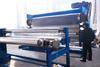 3 rollers plastic embossing machine