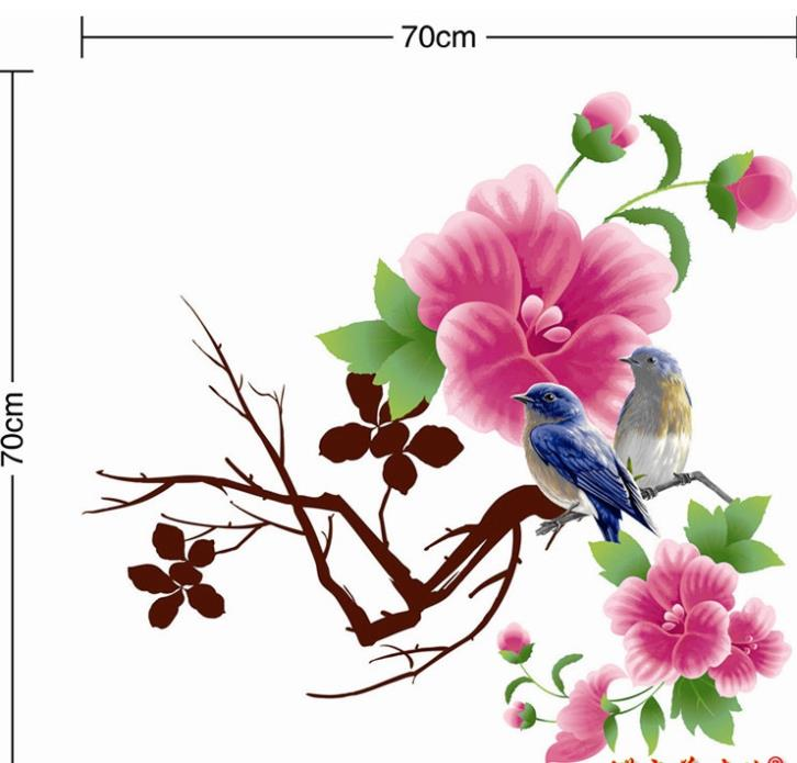 Bird Scenery Drawing 2014 Drawing Flower Birds