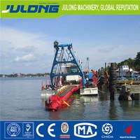 sand cutter suction dredger ship for sale