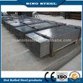 Suministro leve de placas de acero laminado en caliente de hierro negro hoja