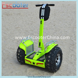 Patent portable hands free two wheel stand up electric scooter