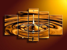 Wholesale oil paintings cavas water drops wall pictures best selling factory price