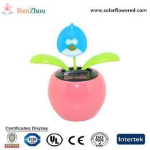 cute animal shaped energy solar apple