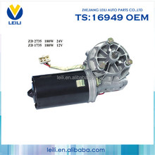 High Quality Auto DC Electric Motor,bosch 12v electric motor, 12v dc wiper motor For Bus