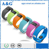 2015 bluetooth 4.0 sport wristband with heart rate monitor