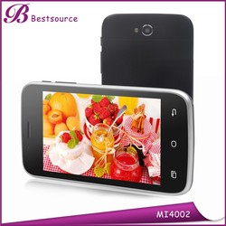 New hot made in china 4''inch Dual core 3G android Dual sim card Dual standby smart cell phone