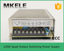 Q-120G 120w switching power supply 5v 12v 15v 24v,multiple output switching power supply,switching power supply