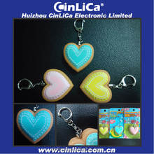 CJ015 heart shaped personal alarm device for women