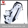 White nylon golf stand bag with new design