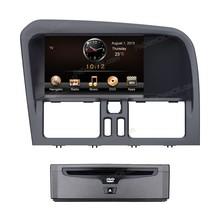 Dual zone car radio, car DVD player GPS navigation for Volvo XC60