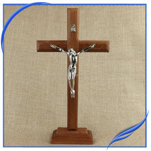 Factory wholesale religious Jesue wooden cross