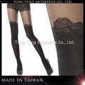 la fábrica de taiwán rosa mirada medias panti señora