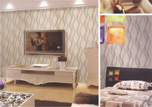 commercial morden italy design waterproof cheap 3d modern new heavy plain vinyl wallpaper