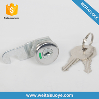 2015 Best Quality Chrome Plated Cylinder Cabinet Door Lock Price