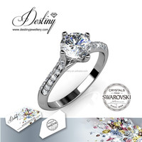 Destiny Jewellery - Alibaba artificial jewellery rings Crystals from Swarovski - DR0172