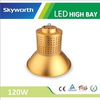 Good level brightness cold white SMD 3030 PF0.95 60/80 degree golden ip65 120w high bay led light