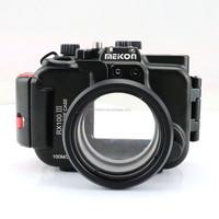 Meikon 100M aluminum camera case for sony RX100-III