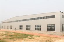 long living luxury prefab steel structure warehouse to algeria