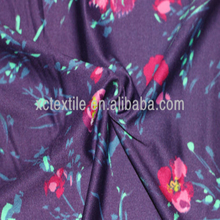 Sports fabric: floral print yoga jersey fabric wholesale