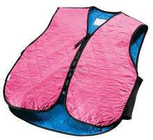 safety vest pink thick s/m/l/xl/xxl polyester fabric polymer embedded inside for women