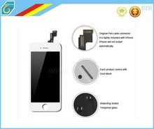 Free Shipping 100% Testing Pass 6 months Warranty Black Replacement Screen LCD for iphone 5s