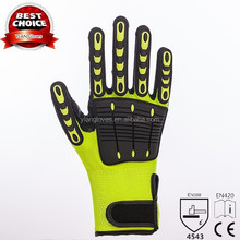 Safety cleaning hand gloves construction safety gloves with CE EN388