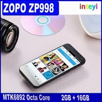 New ZOPO ZP998 MTK6892 Octa Core Cellphone 5.5 Inch IPS Screen 2GB RAM 16GB R0M Android Smartphone