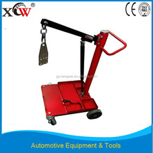 4 wheels automotive equipment air impact wrench moving cart for tire repair