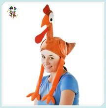Unisex Adult Funny Thanksgiving Party Plush Turkey Hats HPC-0247