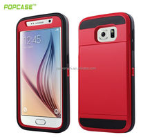 hybrid cell phone case for samsung galaxy s6 case