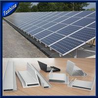 Custom extruded aluminum extrusion solar panel frame
