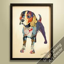 Guansheng CE012 handcraft wall decoration Dog